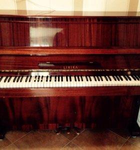 Пианино LIRIKA, СССР