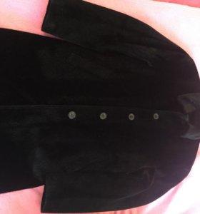 Мужское пальто из искусственного меха!!!