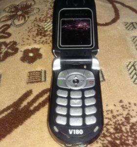Motorola V180 не рабочий