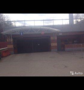 Продам тёплый подземный гараж в старых Химках