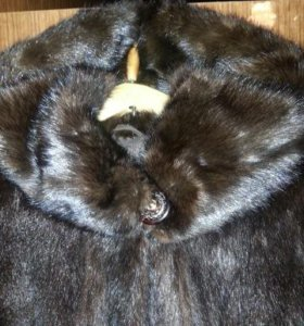 Норковый полушубок размер 48-50