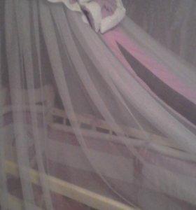 Кроватка Маятник