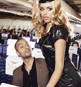 Ролевой костюм стюардессы
