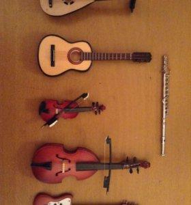 Музыкальные инструменты мини