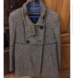 Пальто и кожаная куртка с мехом!!!!
