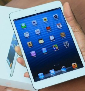 iPad mini 16 gb white