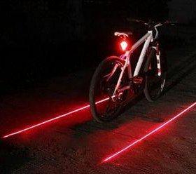 Лазерные велосипедные полосы