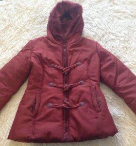 Зимняя куртка,теплая,размер 44