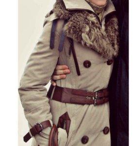 Женская зимняя куртка-пуховик