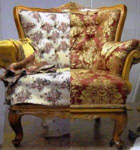 Перетяжка ,тюнинг для вашей мебели.