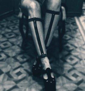 Портупея браслет на ноги