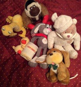 Набор игрушек разные