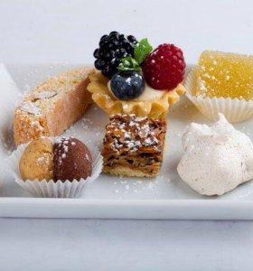 Тортики, пироги и пирожные на заказ