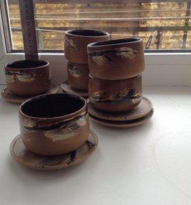 Набор 6 маленьких чашек