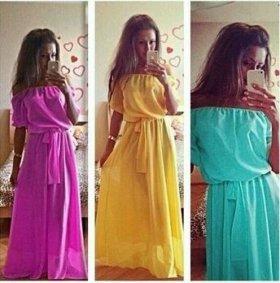 Платье в пол.Новое!