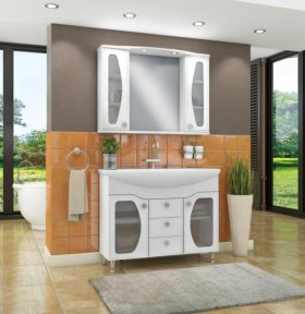 Мебель для ванной комнаты марки Runo