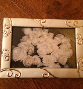Шкатулка-рамка для фотографии