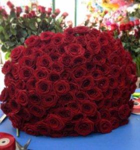 Цветы. Букеты роз. Доставка