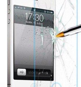 Защитное стекло для iPhone 4/4s 5/5s 6/6+/7/7+