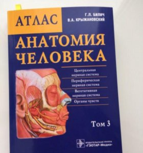 Атлас по анатомии Г.Л. Билич