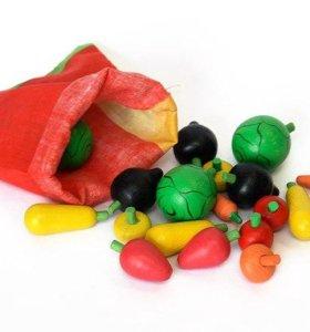 Дидактические игрушки Набор овощей
