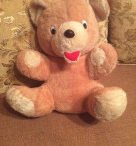 Большая мягкая игрушка медведь