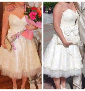 Выпускное платье/свадебное