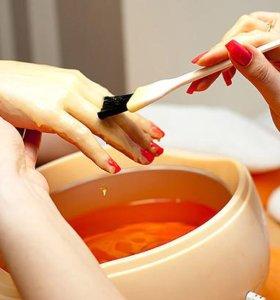 Наращивание ногтей и педикюр