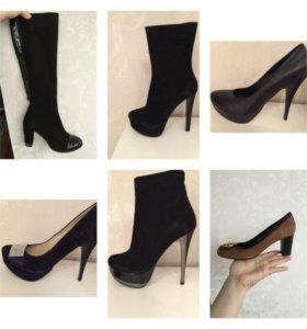 Туфли, полусапоги, сапоги