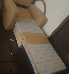 Кресло кровать с подушкой Самовывоз