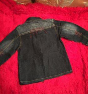 Куртка джинсовая.новая