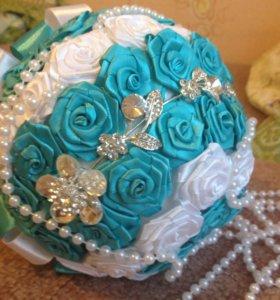 Букет невесты,ручная работа