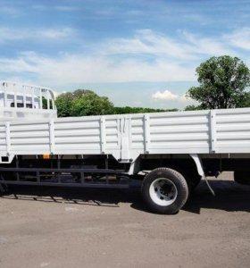 Грузоперевозки 5 тонник бортовой  до 6 метров