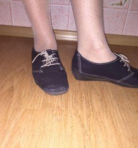 Туфли демисезонные.