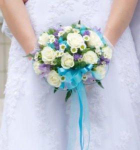 Шикарное свадебное платье!!!!