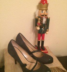 Туфли JC collezione,нат.кожа.,зеленые.