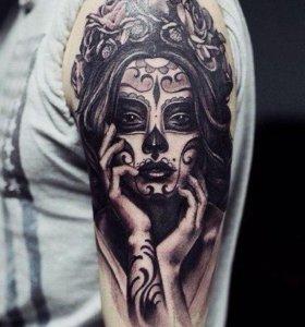 Татуировка на дому