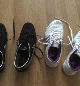 Кроссовки Nike и Adidas