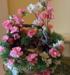 Декоративные фонтаны ручной работы