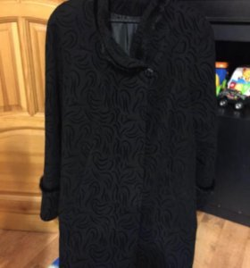 Пальто почти новое 50-52