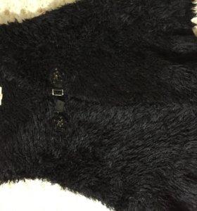 Манто шаль тёплое очень .