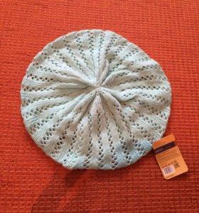 Новая вязаная шапочка.58 см