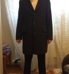 Пальто кашемир демисезонное р.48