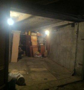 Гараж подземный, двухуровневый