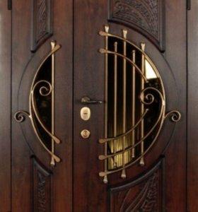 Производим входные металлические двери