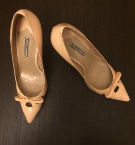 Туфли nude