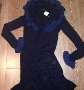 Платье- кардиган