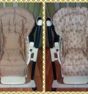 Чехлы на стульчик для кормления Чикко Полли
