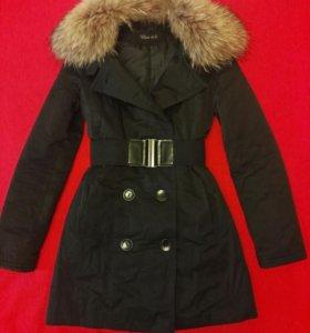 Удлиненная куртка 40р-р