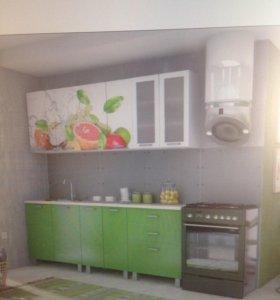 Кухня Мдф с фото печатью